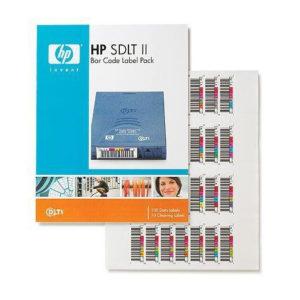 HP Super DLT II vonalkód-címke csomag (Eredeti)