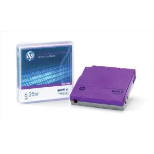HP LTO-6 Ultrium 6.25 TB BaFe RW Eco Pack (No Case) Unlabelled Data Cartridge (20 pk)