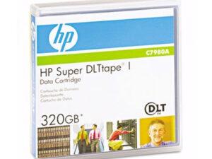 HP SuperDLTtape I 220-320 GB adatkazetta (Eredeti)