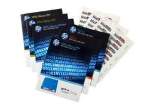 HP LTO-6 Ultrium RW Bar Code Label Pack (Eredeti)