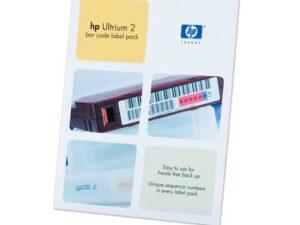 HP Ultrium 2 vonalkódcímke-csomag (Eredeti)