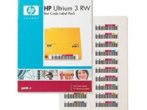 HP Ultrium 3 RW automata vonalkódcímkék (Eredeti)
