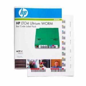 HP LTO4 Ultrium WORM Bar Code Label Pack (Eredeti)