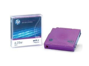 HP LTO-6 Ultrium 6.25 TB BaFe RW Non Custom Labeled Data Cartridge (20 pk)