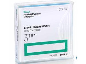 HP LTO5 Ultrium 3 TB WORM Data Cartridge (Eredeti)