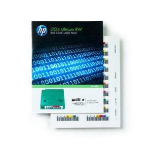 HP LTO4 Ultrium RW Bar Code Label Pack (Eredeti)