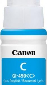 CANON GI490 Tinta Cyan  OCP (For use)