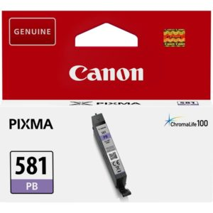 Canon CLI581 Patron Blue Photo /eredeti/