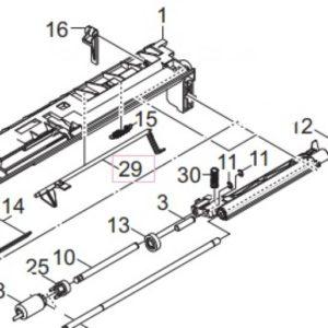 Kyocera 302ND06070 Actuator PF7110