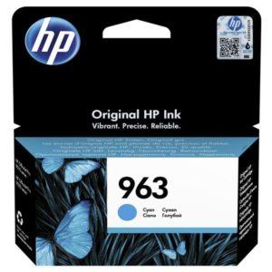 HP 3JA23AE Patron Cyan No.963 (Eredeti)