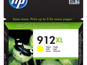 HP 3YL83AE Patron Yellow No.912XL (Eredeti)