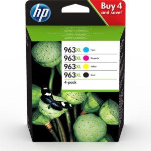 HP 3YP35AE Patron 4Pack C/M/Y/Bk No.963XL (Eredeti)