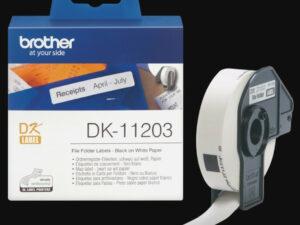Brother DK11203 etikett (Eredeti)