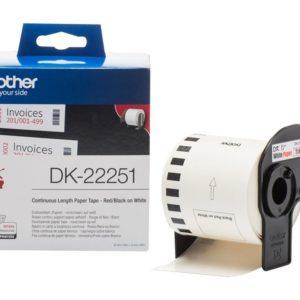 Brother DK22251 papírszalag (Eredeti)