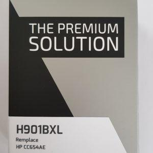 HP CC654AE  Black No.901XL (For Use) PREMIUM