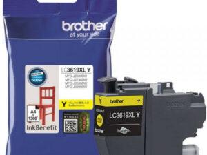 Brother LC3619XLY tintapatron (Eredeti)