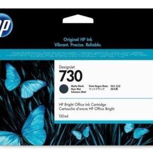 HP P2V65A Patron Matte Black No.730 (Eredeti)