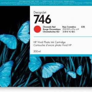 HP P2V81A Chromatic Red No.746 (Eredeti)