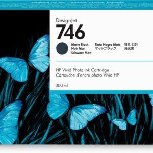 HP P2V83A Patron Matte Black No.746 (Eredeti)