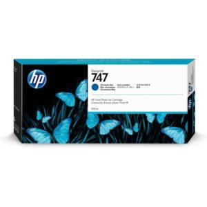 HP P2V85A Patron Chromatic Blue No.747 (Eredeti)