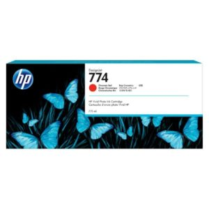 HP 774 775-ml Chromatic Red Ink Cartridge