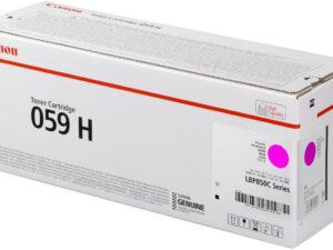 Canon CRG059H Toner Magenta /EREDETI/ 13,5K