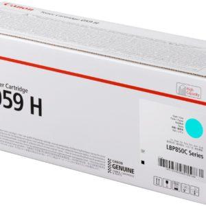 Canon CRG059H Toner Cyan /EREDETI/ 13,5K