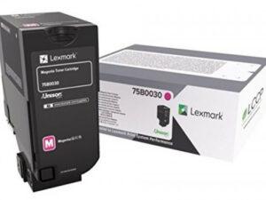 Lexmark CS/CX727/CS728 Toner Magenta 10K (Eredeti) 75B0030