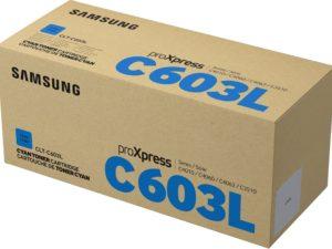 Samsung CLT-C603L Cyan Toner 10k (Eredeti)