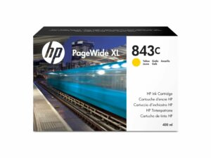 HP C1Q68A Patron Yellow No.843C (Eredeti)