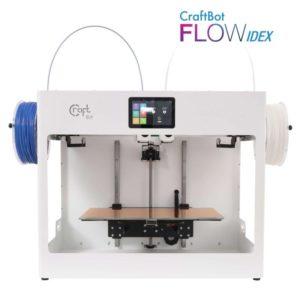 CraftBot Flow Idex 3d nyomtató Fehér
