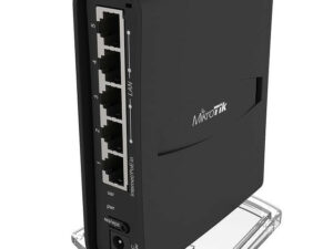 MikroTik hAP ac2 RBD52G-5HacD2HnD-TC L4 128Mb 5xGbE Dual-Band Vezeték nélküli router