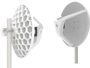 MikroTik LHGG-60ad 60GHz 802.11ad Wireless Wire Dish antenna pár