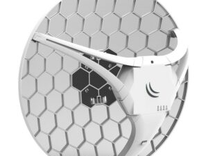 MikroTik LHG LTE kit 1xLAN port 1xSIM slot 17dBi 25 fokos LTE antenna
