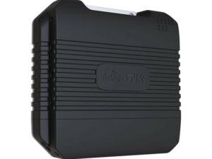 MikroTik LtAP LTE kit 1xGbE LAN GPS 1x miniPCIe 3x miniSIM foglalat kültéri WiFi accesspoint beépített LTE modemmel