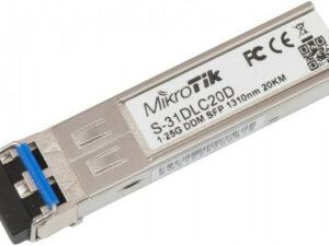 MikroTik SFP modul 1.25G SM 20km 1310nm