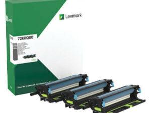 Lexmark CS/CX/82x drum kit 3-pack 175k each (Eredeti) 72K0Q00