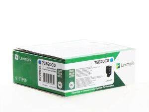 Lexmark CS/CX727/CS728 Return Toner Cyan 10K (Eredeti) 75B20C0