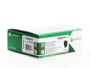 Lexmark CS/CX727/CS728 Return Toner Yellow 10K (Eredeti) 75B20Y0