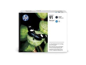 HP P2V35A Printhead Matte Black/Cyan No.91 (Eredeti)