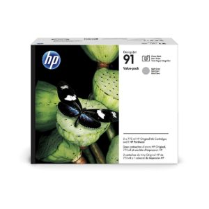 HP P2V38A Printhead Photo Black/Light Gray  No.91 (Eredeti)