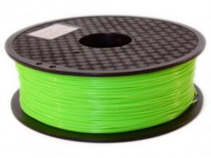3D FILAMENT CM 1,75 mm PLA FLUORES fluoreszkáló zöld 1000g 1kg