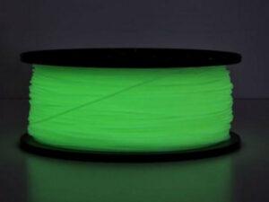 3D FILAMENT CM 1,75 mm PLA sötétben világító Glow-in-Dark zöld 1000g 1kg