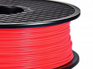 3D FILAMENT CM 1,75 mm ABS sötétben világító Glow-in-Dark piros 1000g 1kg