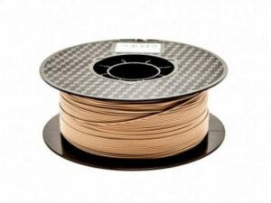 3D FILAMENT CM 1,75 mm fapor-PLA keverék (Wood+PLA) faszín 800g