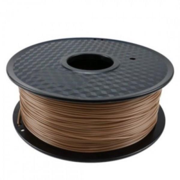 3D FILAMENT CM 1,75 mm fapor-PLA keverék (Wood+PLA) sötét faszín 800g