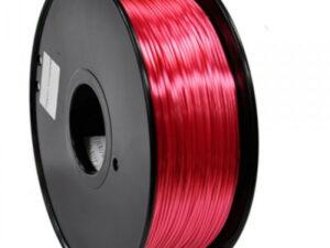 3D FILAMENT CM 1,75 mm polymer silk selyem piros 1000g 1kg