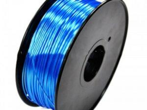 3D FILAMENT CM 1,75 mm polymer silk selyem kék 1000g 1kg