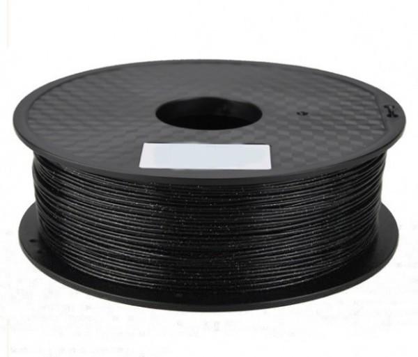3D FILAMENT CM 1,75 mm PLA csillogó fekete 1000g 1kg