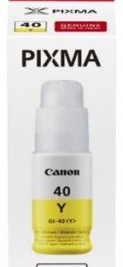 Canon GI40 Tinta Yellow /EREDETI/